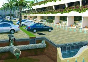 Conversión de Parking Impermeable a Permeable