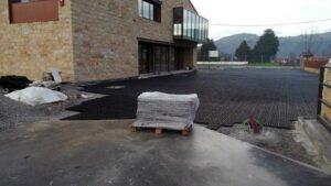 Celda 52mm para Drenaje en la Entrada de la Fabrica de Sobaos Joselin en Cantabria