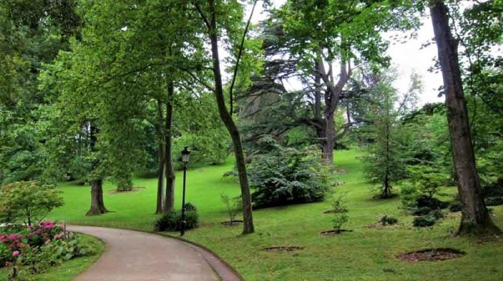 Drenaje Sostenible Parque Cristina Enea Donostia