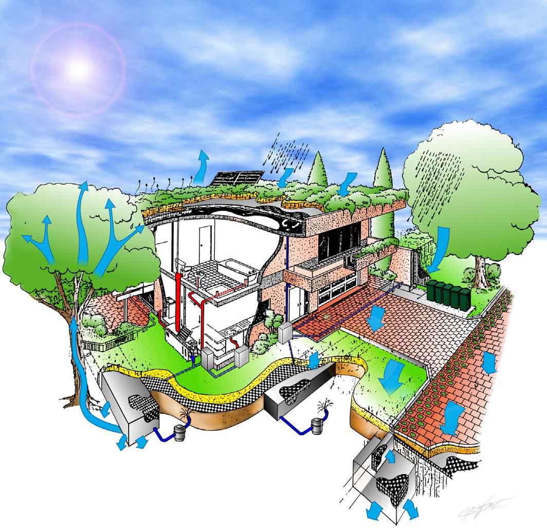 Gestión Integral Agua en Vivienda, Reutilización